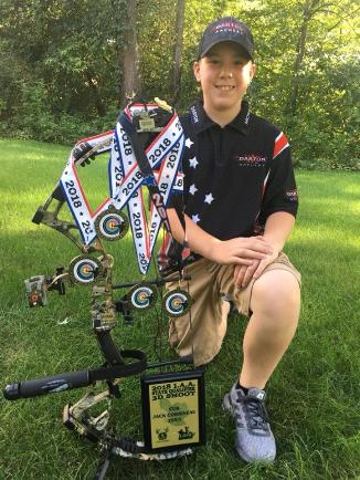 Jack Corriveau age 12 Pro Staff Darton Archery Pro Staff Black Eagle Arrows Pro Staff Motor City Archers Pro Staff McDonald Ford Freeland  2018 S3DA State Indoor Champion 2018 S3DA 3D State Champion 2018 Michigan Schools Archery Champion  2018 MIAA Shooter of the year Candidate. Jack is in 7th grade at Swan Valley Middle School in Saginaw Michigan.